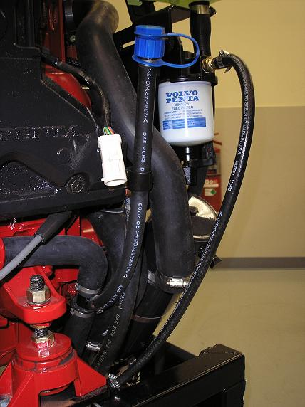 Garden Hose Engine Flush Project