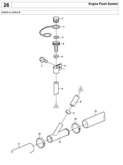 Hose Kit Sch on Volvo 3 2 Engine Parts Diagram