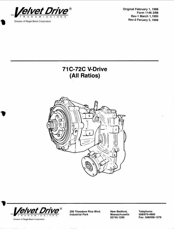 borg warner schematics marine parts express rh marinepartsexpress com velvet drive 5000 service manual Velvet Drive Transmission Diagram
