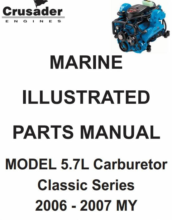 crusader schematics rh marinepartsexpress com 350 Crusader Engine Parts crusader marine engine parts manual